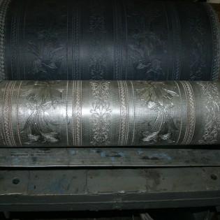 Валы металлические для производства дуплексных обоев